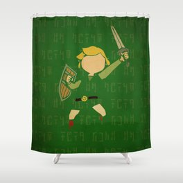 Hero of Winds Shower Curtain