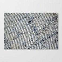Warehouse District -- Rustic Farm Chic Abstract Canvas Print