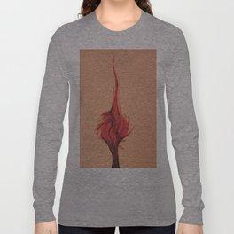 Flaming Tree Long Sleeve T-shirt