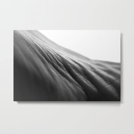Fabric of the Foot Metal Print