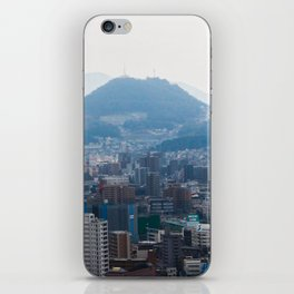 Hiroshima City from Above iPhone Skin