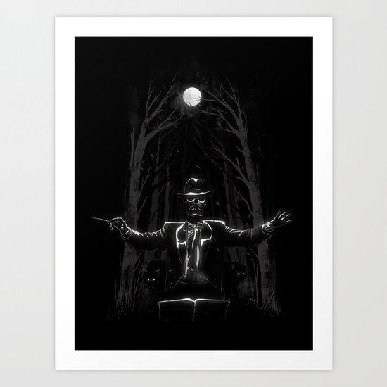 Bittersweet Symphony Art Print