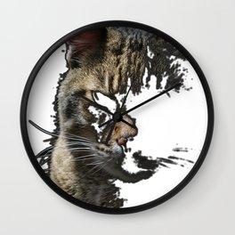 Prrrr Wall Clock