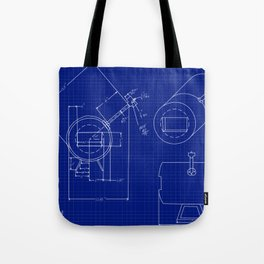 Forge Blueprint Tote Bag