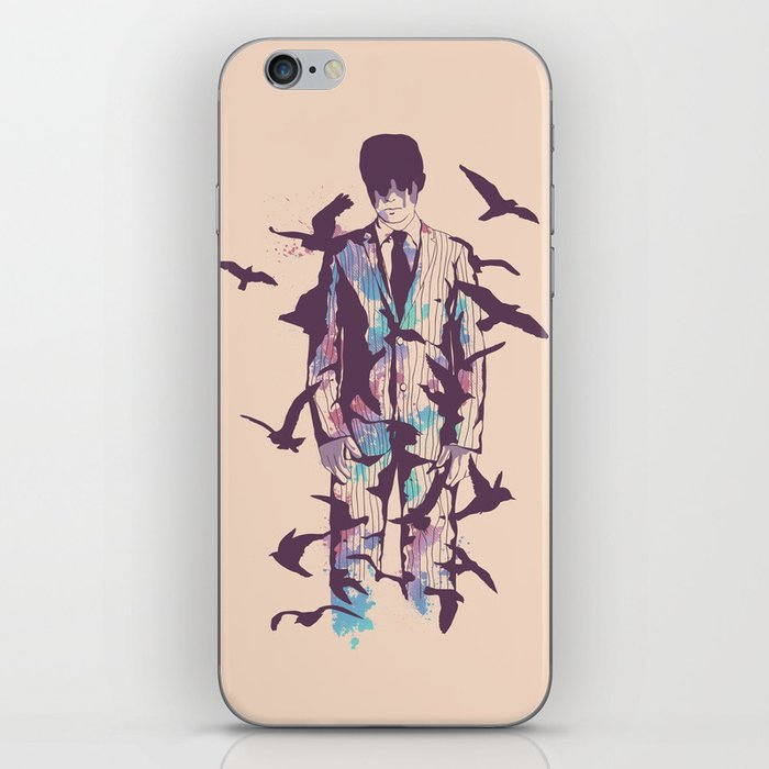 Come Fly with Me iPhone Skin