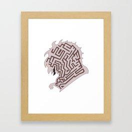 Jareth Labyrinth Framed Art Print