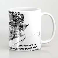 kendrick lamar Mugs featuring King Kendrick  by Tyvenchy