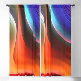 Sunset Series: Abstract 12 Blackout Curtain