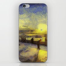 Bosphorus Sunset Van Gogh iPhone & iPod Skin