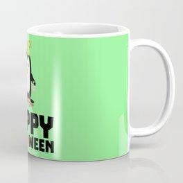 Happy Halloween Witch Penguin T-Shirt D1niv Coffee Mug