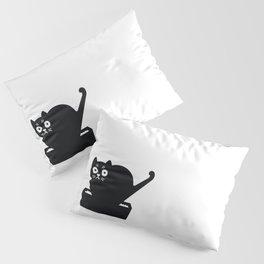Surprised cat! Pillow Sham
