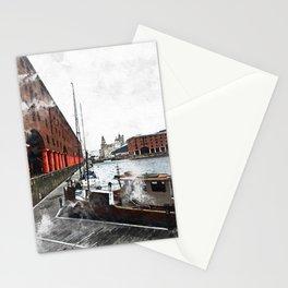 Liverpool Docks Stationery Cards