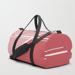 Red Triangles #buyart #kirovair #design #minimalism #society6 Duffle Bag