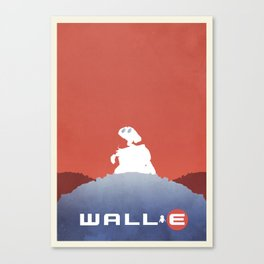 Wall E Canvas Print