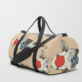 The Great Wave Of Koi Duffle Bag