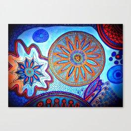 Energy of Orbs Canvas Print