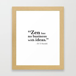 Quote 9 Framed Art Print