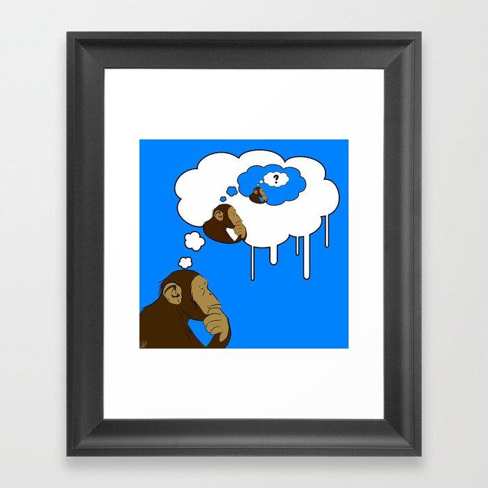 Apeception ?  Framed Art Print