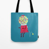 sale Tote Bags featuring When You Gotta Go by Teo Zirinis