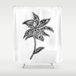 Girl From the North Country  Shower Curtain