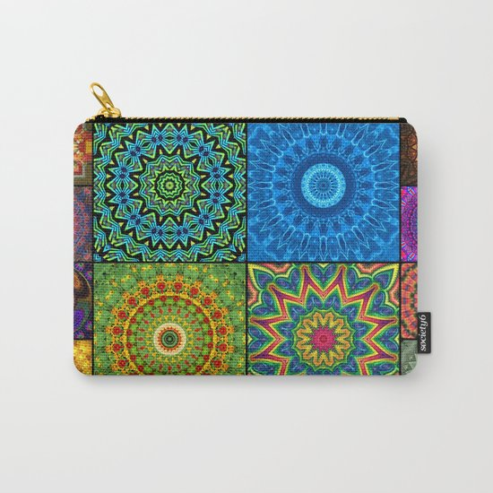 Mandala Madness Carry-All Pouch