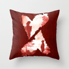 Secret Lovers Meet Throw Pillow