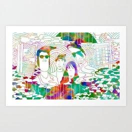 """""""Bosnian Rainbows"""" by Steven Fiche Art Print"""