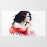 gypsy Area & Throw Rugs featuring Gypsy by tatiana-teni