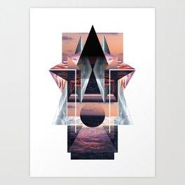 Day 8: Sunset Art Print