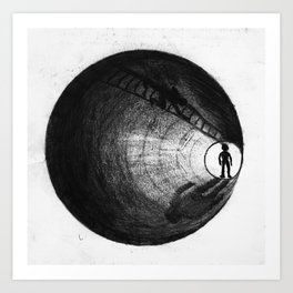 parallels Art Print