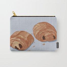 Deux pains au chocolat blue Carry-All Pouch