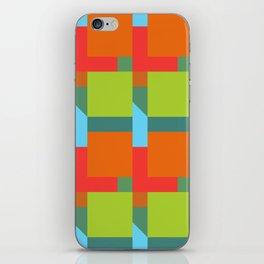 Let's Make Squares iPhone Skin