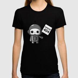 Mini Robot - Error 404 T-shirt