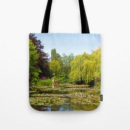 Summer Water Garden at Giverny Tote Bag