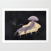 medusa Art Prints featuring Medusa by Matthias Seifarth