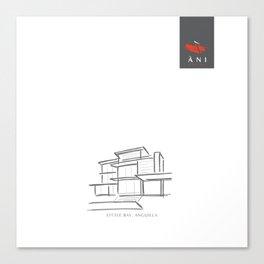 ANGUILLA - Ani Villas Tote Bags Canvas Print