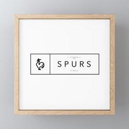 Tottenham Hot Spurs Framed Mini Art Print