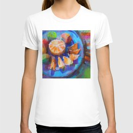 Still LIfe with Oranges and Limes T-shirt