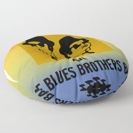 Mission From God Blues Brothers Floor Pillow