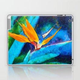 Bird Of Paradise Plant art Laptop & iPad Skin