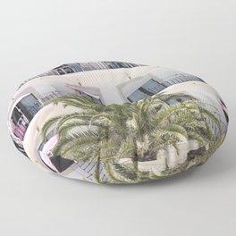 Life in Pink Floor Pillow