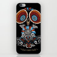 mexican iPhone & iPod Skins featuring Mexican Owl by Msimioni