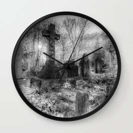 The Haunting Wall Clock