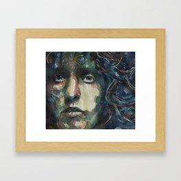 Behind Blue Eyes   Roger Daltrey Framed Art Print