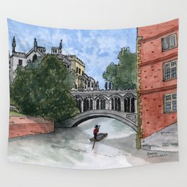 The Bridge of Sighs Wall Tapestry
