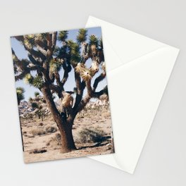 Landscape in Joshua Tree Stationery Cards
