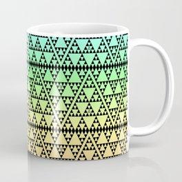 Triangles in Triangles on Rainbow Coffee Mug