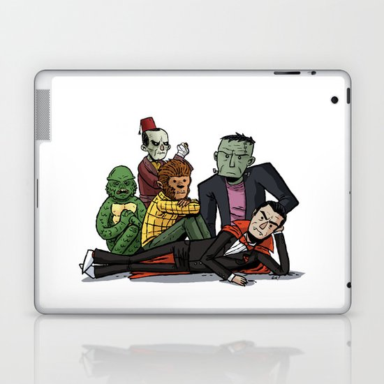 The Universal Monster Club Laptop & iPad Skin