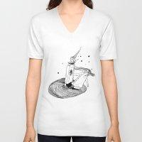alabama V-neck T-shirts featuring Alabama by La Bande