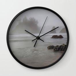 In A Fog Wall Clock